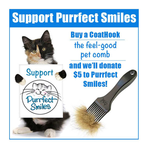 A CoatHook to Benefit Purrfect Smiles<br /><br />