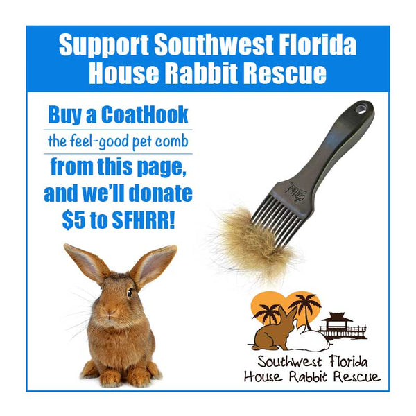 A CoatHook to Benefit <br />Southwest Florida House Rabbit Rescue<p></p>