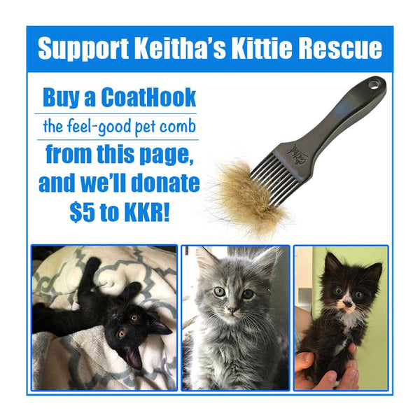 A CoatHook to Benefit <br />Keitha's Kittie Rescue
