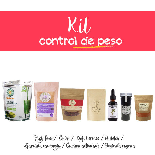 Kit control de peso (7 productos)