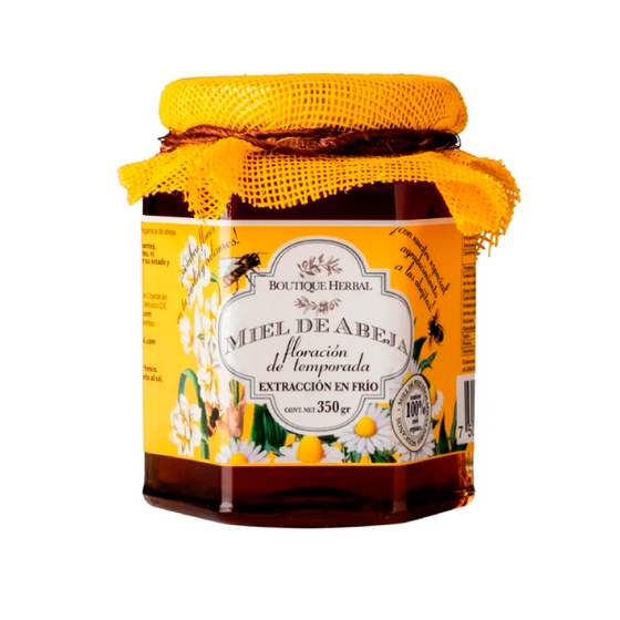 Miel de abeja orgánica 350g/ Boutique Herbal