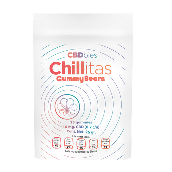 Chillitas 15 Gummybears / CBDbies