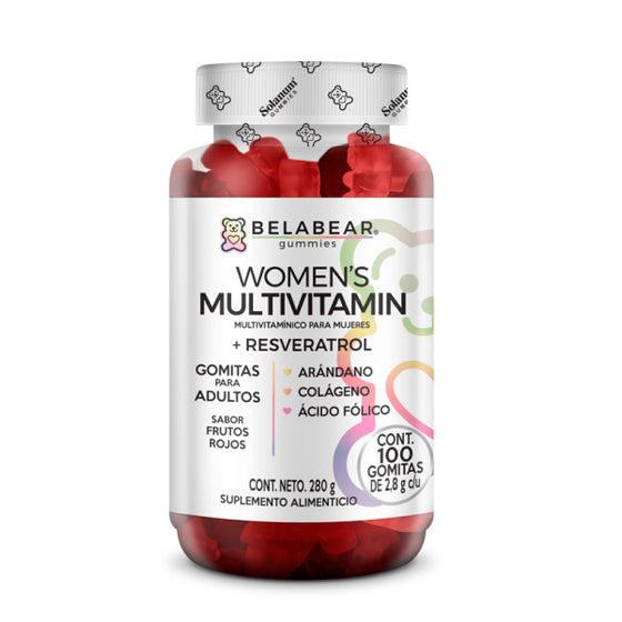 Gummies Womens Multivitamin 100 gomitas/ Belabear