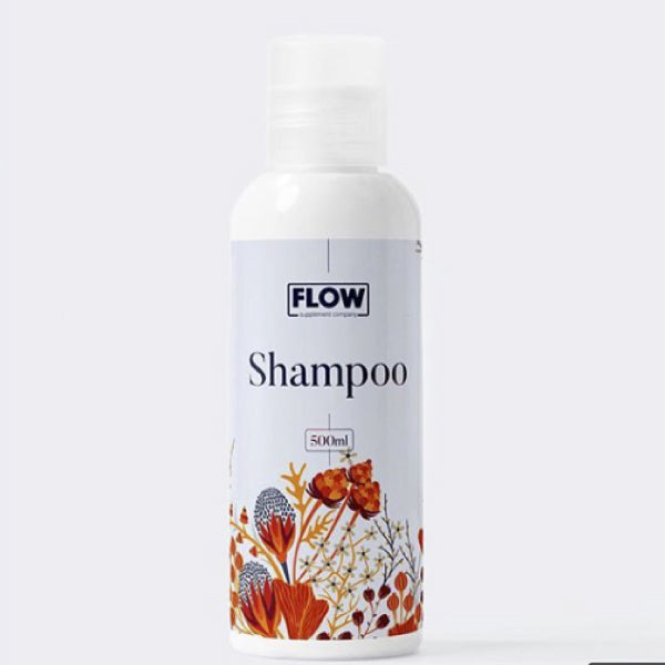 Shampoo con extractos naturales 500 ml/ Flow