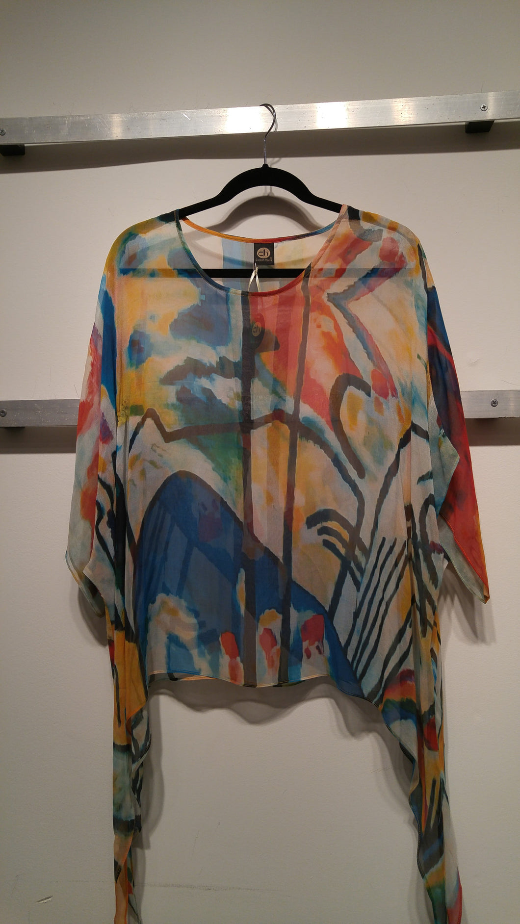 Water Colored Silk Tops