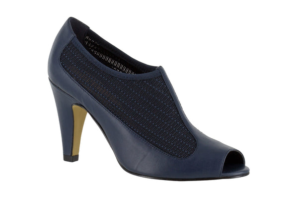 Ninette in Navy Leather