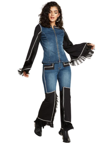 Cowgirl Denim Pants 20013-PNT