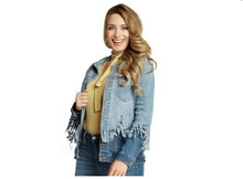Load image into Gallery viewer, Double Dipped Denim Jacket