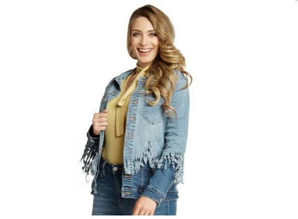 Double Dipped Denim Jacket