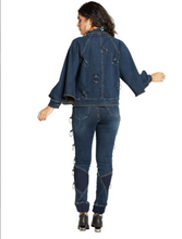 Load image into Gallery viewer, Ring the Bell Denim Jacket