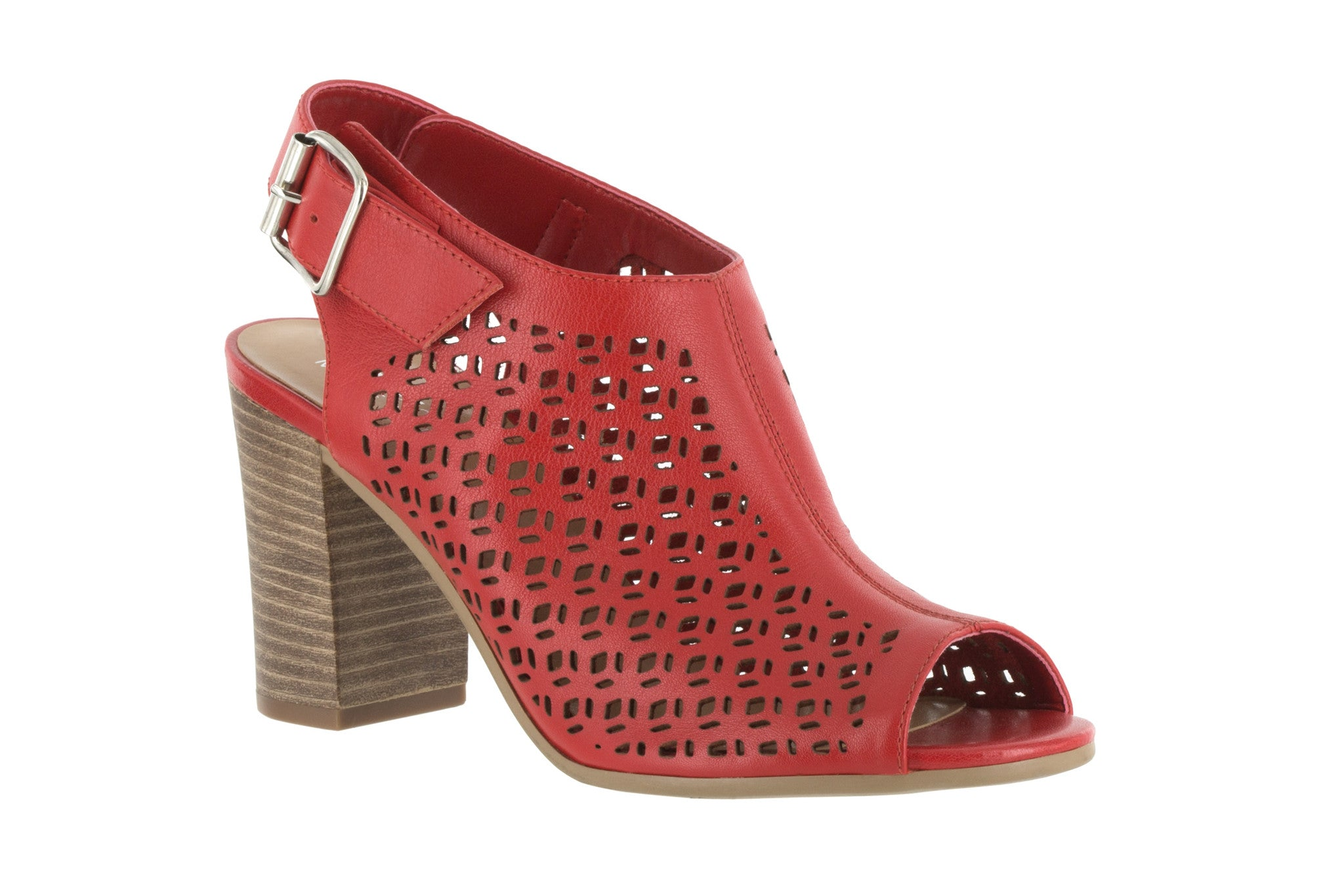 Trento in Red Leather