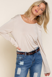 Loose-Fitted Blouse