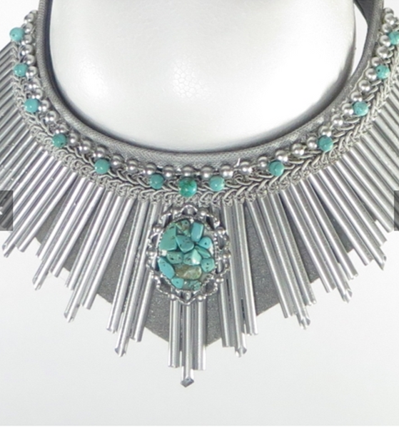 Silver and Turquoise Liberty