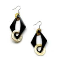 Natural Horn Earrings