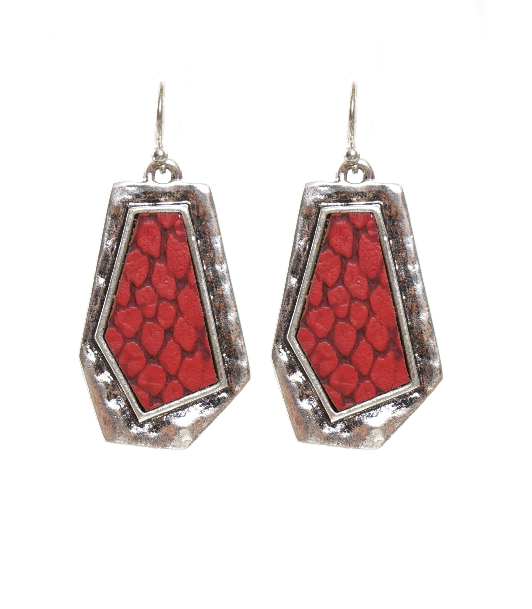 Red Cell Earrings
