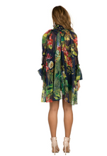 Load image into Gallery viewer, Tropical Blouse Dress