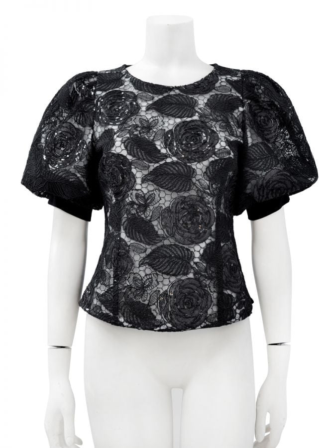 Lace Flower Shirt