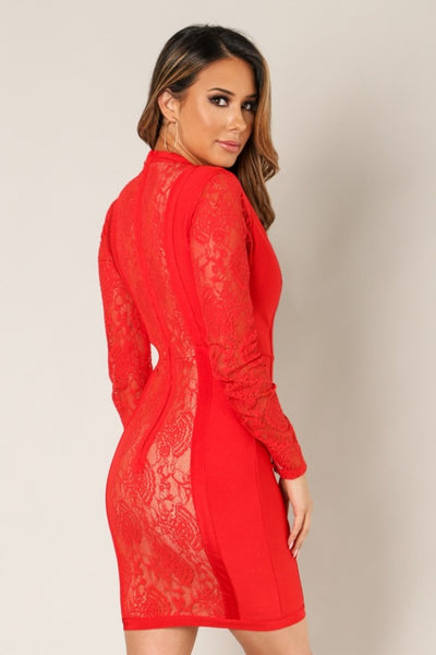 Katya Lace Dress