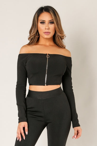 Sidney Crop Top