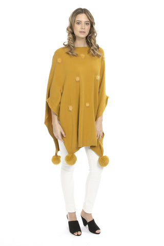 Luxury Knit Poncho