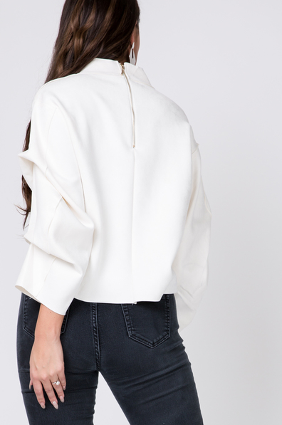 Kyra Suede Top