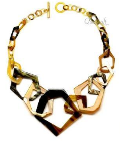 Horn Octagons Necklace