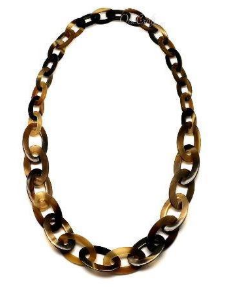 Horn Chain Necklace (A001466)