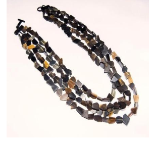 Pebbled Horn Necklace