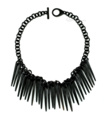 Spike Horn Necklace