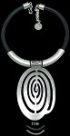 Swirl Medallion Necklace