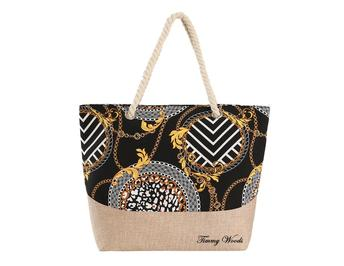 Timmy Woods Chain Link Tote