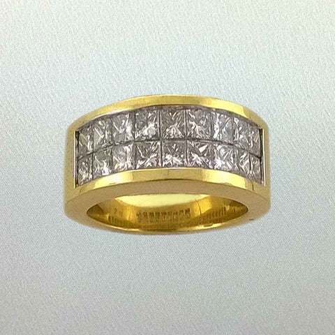 18 kt Gold Diamond Ring