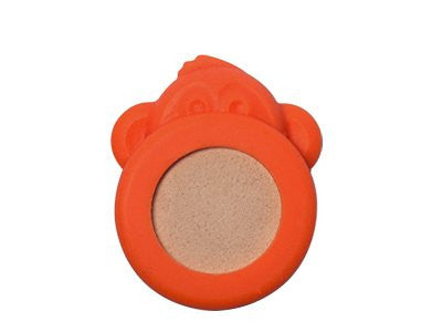 BUGLET  ORANGE Funky Monkey (kit incl. one bottle of repellent oil) - All Natural Bug Repellent Bracelet