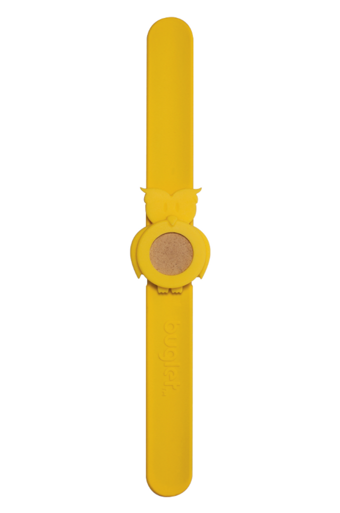 BUGLET  YELLOW Hoot 'n Holler Owl Bracelet