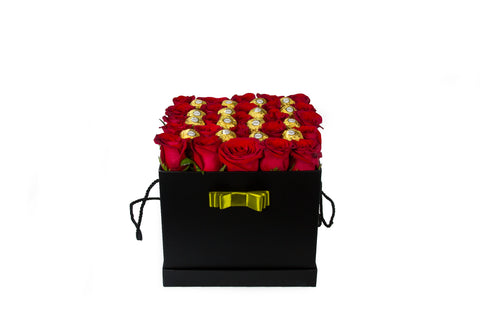Square Box Black L - Ferrero