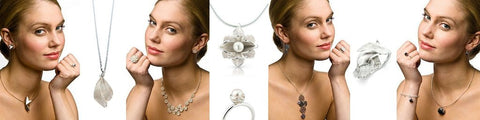 Aurum by Guðbjörg - Stunning Sterling Silver Jewellery Sets