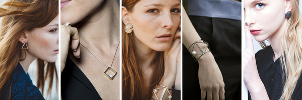 CO RO Jewels - Italian Designer Jewellery - Geometric Minimalist Jewellery