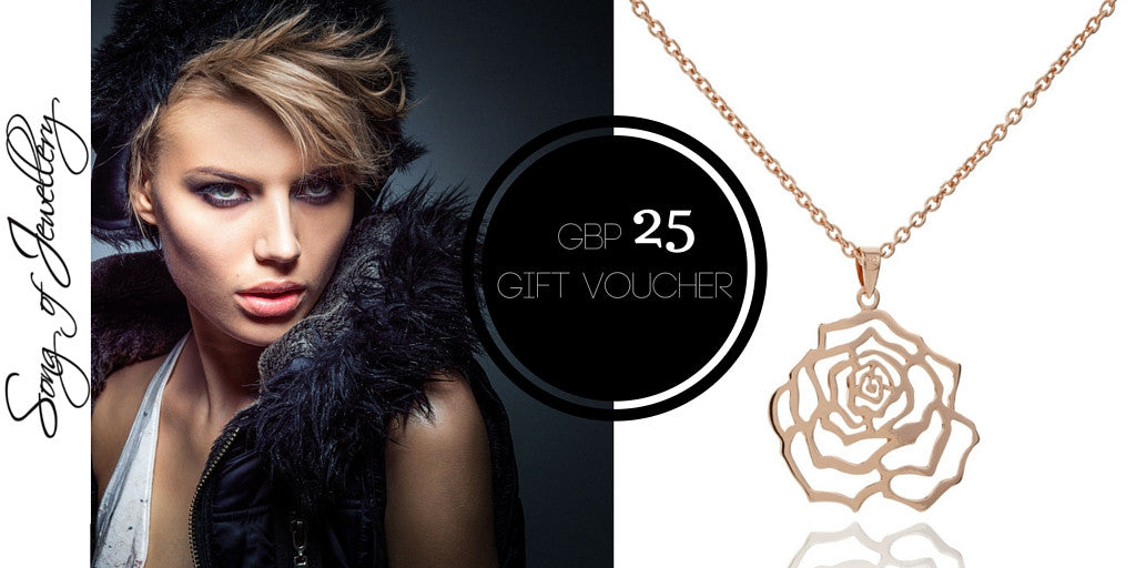 Jewellery Gift Voucher Design New York by Song of Jewellery - Art Jewellery Store: Song of Jewellery