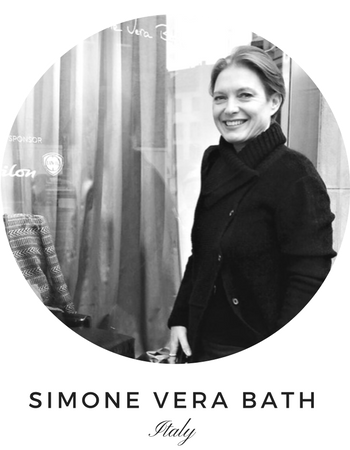 Curves Gemtone Ring in Bronze or Silver by Simone Vera Bath - Art Jewellery Store: Song of Jewellery