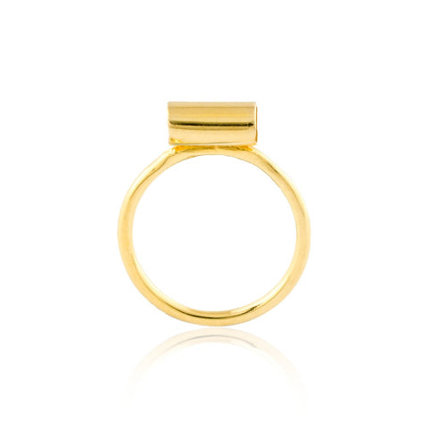 Inner Space Gold Vermeil Ring