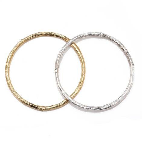 Rose Stem Bangle - Argent London | Song of Jewellery