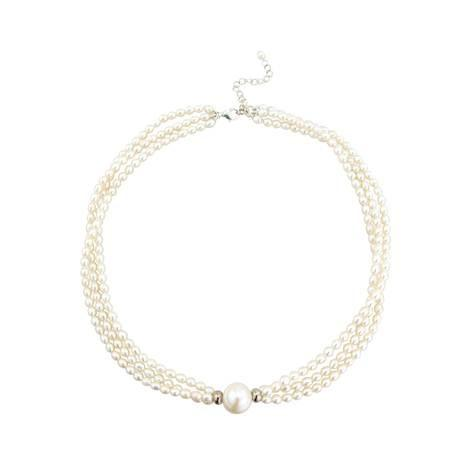 Triple Pearl Choker Necklace by Argent London - Art Jewellery Store: Song of Jewellery