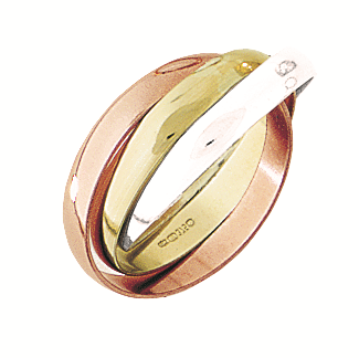 Gold Russian Wedding Ring by Argent London - Art Jewellery Store: Song of Jewellery