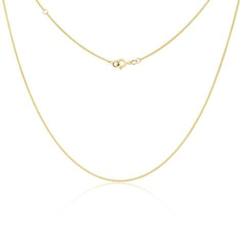"9ct Gold 16"" - 18"" Curb Chain by Argent London - Art Jewellery Store: Song of Jewellery"