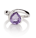 Elegant Amethyst Gemstone Ring | Gemstone Jewellery UK