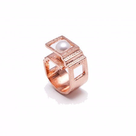 Etienne Architect Ring (Yellow Gold Plated)