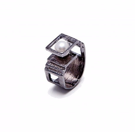 Etienne Architect Ring (Ruthenium Plated)