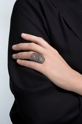 ASTERIAS Ring 403 OX by Aurum - Art Jewellery Store: Song of Jewellery