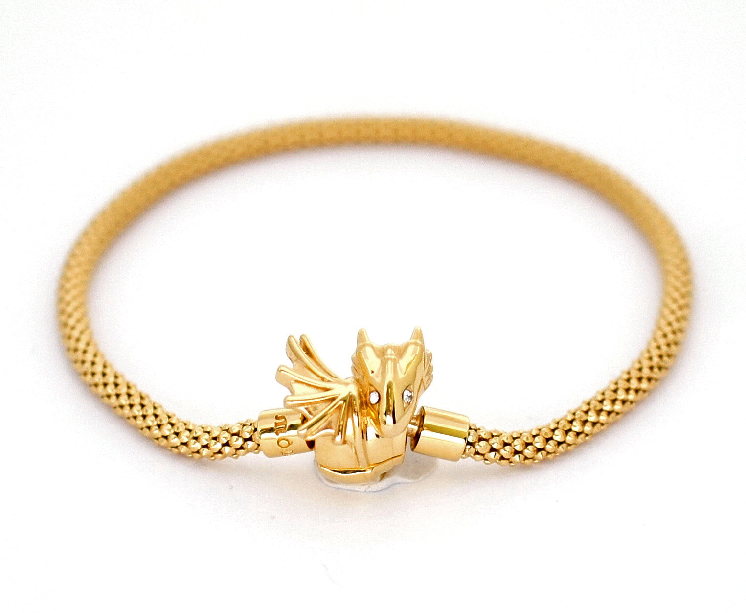 Baby Gold Dragon Bracelet by Monvatoo - Art Jewellery Store: Song of Jewellery