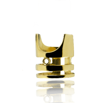 Kella Gold Nail Ring by Rokus - Art Jewellery Store: Song of Jewellery